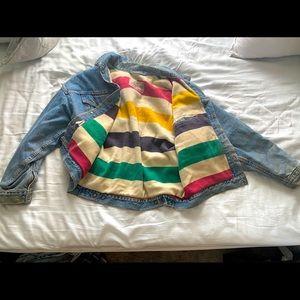 REVERSIBLE Levi's x Hudson Bay Lined Jean Jacket